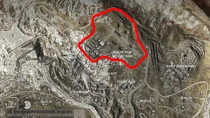Call of Duty Warzone - Arklov Peak Military Base