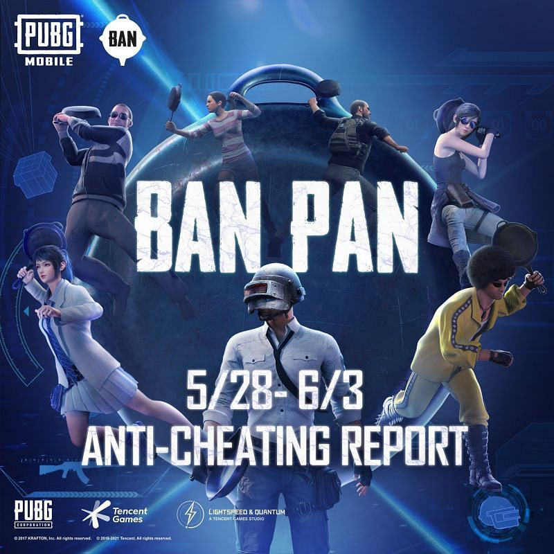 PUBG Mobile Anti-Cheating System Report