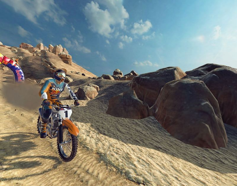 Red Bull Dirt Bike Unchained Xtrme Challenge In-Game Image 3