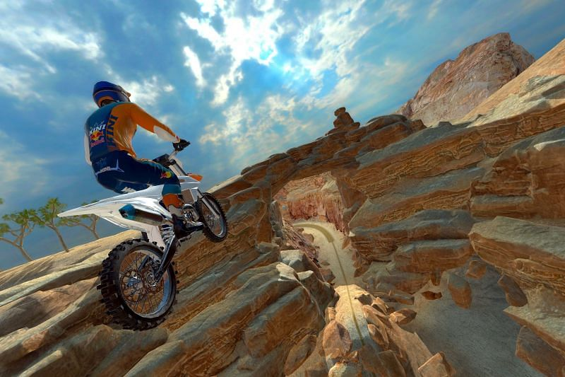 Red Bull Dirt Bike Unchained Xtrme Challenge game image
