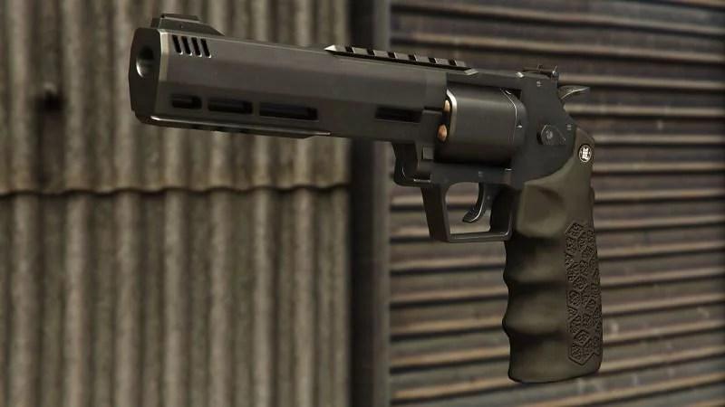 GTA Online Heavy Revolver MK II