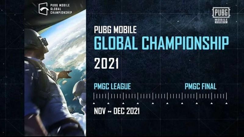 PMGC 2021 Schedule