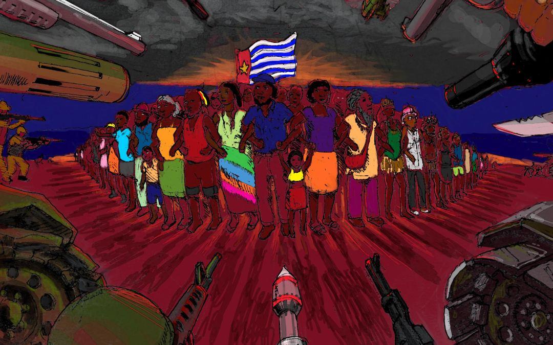 """These armsare used against civilians in West Papua"": Peace activist defends arrest outside Australian weapons manufacturer"