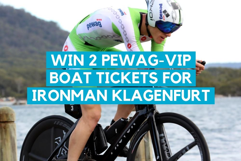 WIN 2 tickets for the PEWAG-VIP Boat @IRONMAN Austria in Klagenfurt
