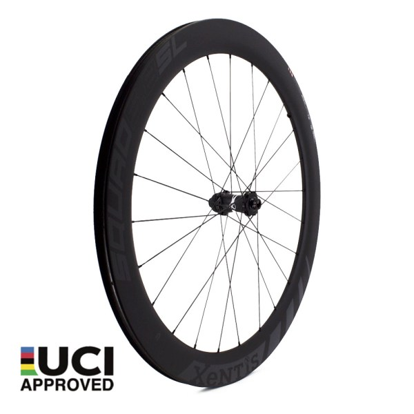 xentis_squad_5_8_sl_black_front_carbon_wheel_UCI_approved