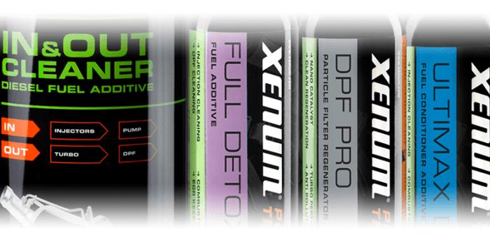 Xenum DPF additives as alternative to the DPF Flush