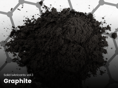 Graphite is a great solid additive which performs better than moly and teflon in specific cases