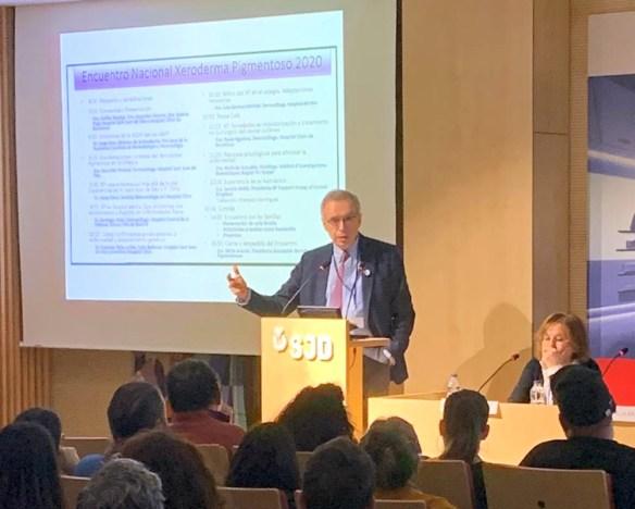 El Dr. Jorge Soto Director de la Fundación Piel Sana, de la Academia Española de Dermatología y Venerología