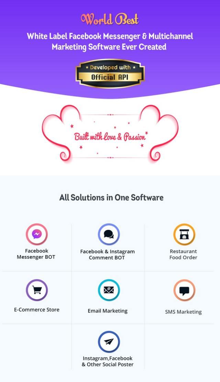 XeroChat - Facebook Chatbot, eCommerce & Social Media Management Tool (SaaS) - 9