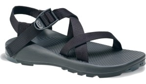 Traditional sport sandals -- thick, heavy, stiff