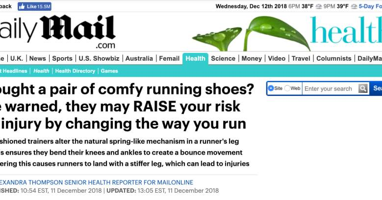 Comfy cushioned shoes can injure you - Try Xero Shoes instead