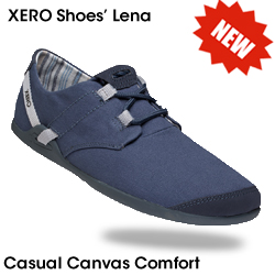 Best Travel Shoes for Women Lena - the NEW casual canvas comfort shoe from Xero Shoes