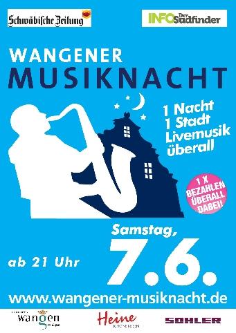 Wangener Musiknacht