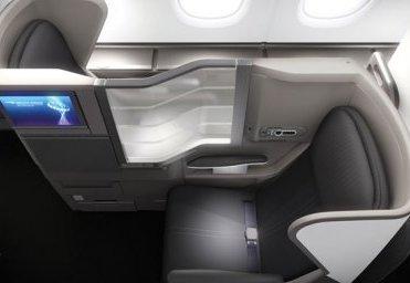BA business class aisle seat (image courtesy of seatplans.com)