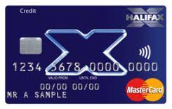 Halifax Clarity credit card