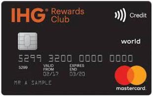 IHG Rewards Club Premium credit card
