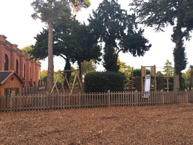 Children's playground at Stoke Park