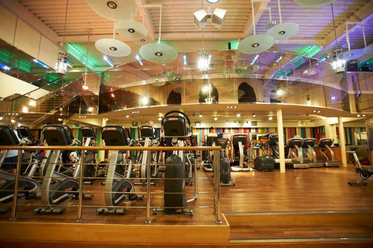 Stoke Park gym lower floor