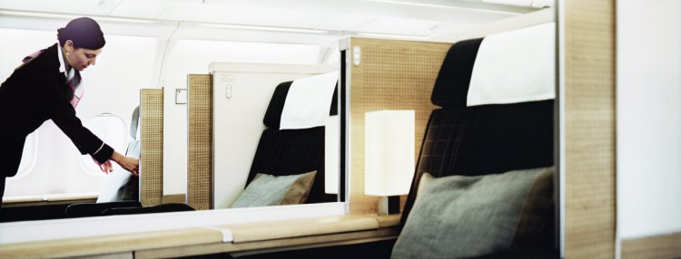 SWISS Airlines A330 First Class seat