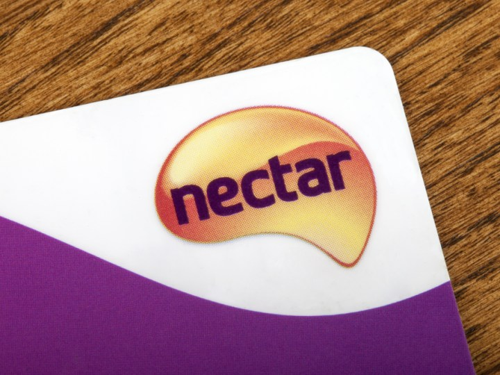 Nectar loyalty card