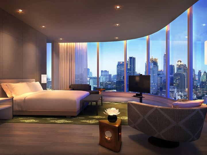 Presidential Suite at the Park Hyatt Bangkok