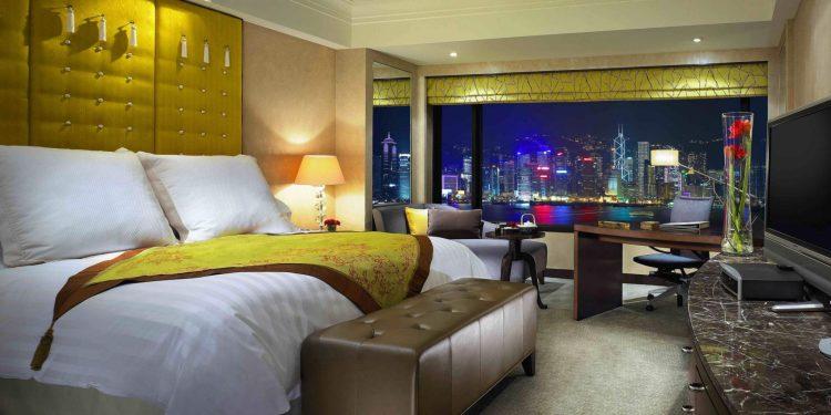 Standard room at the InterContinental Hong Kong