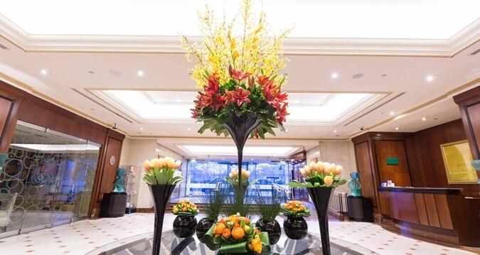 Lobby at Hilton Park Lane