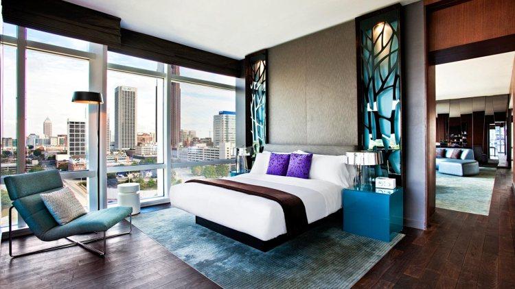 E-Wow-Bedroom at the W Atlanta