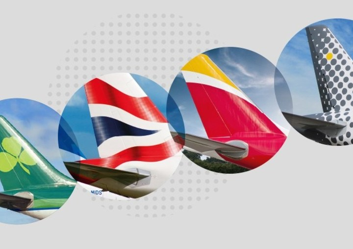 Miscellaneous image of the IAG member airline logos