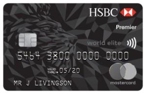 New HSBC Premier World Elite MasterCard