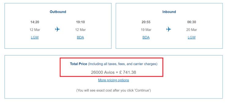 BA half price Avios sale 2