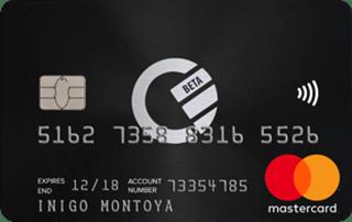 Curve Black card
