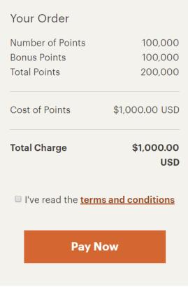 IHG buy points bonus 2