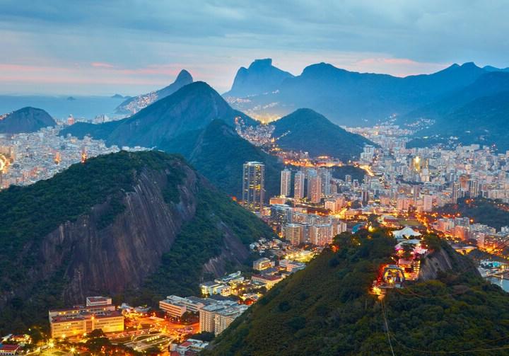 Mountains in Rio de Janeiro