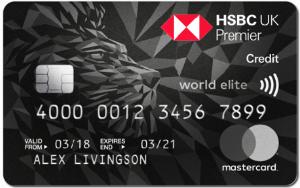 HSBC \Premier World Elite card