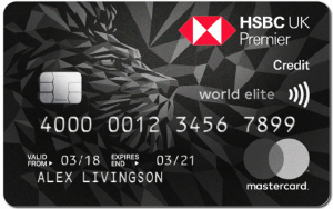 HSBC \Premier World Elite card