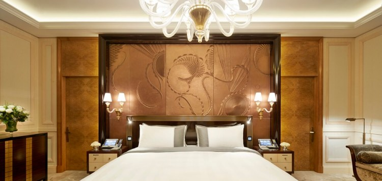 Peninsula Paris - Peninsula Suite - Bedroom (1)