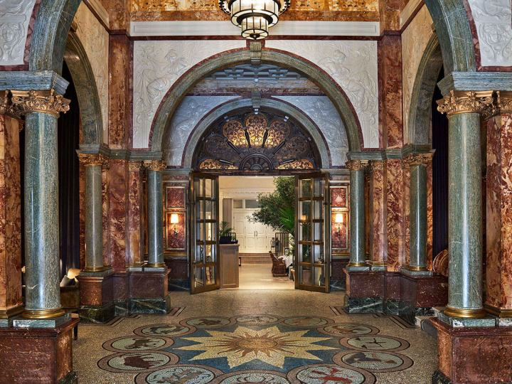 Lobby at the Kimpton Fitzroy London