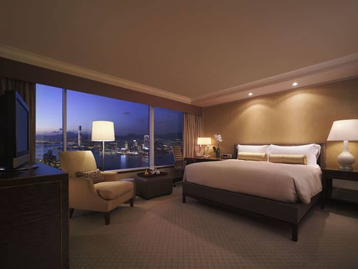 Conrad HK Harbour View Room (1)