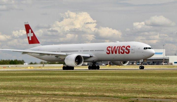 SWISS Air 777