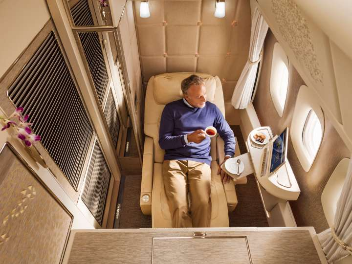 Emirates New First-Class
