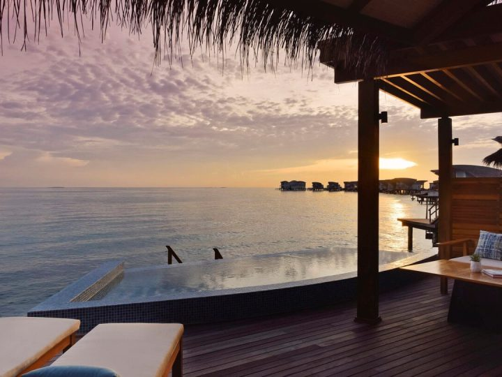 JW Marriott Maldives sunset villa