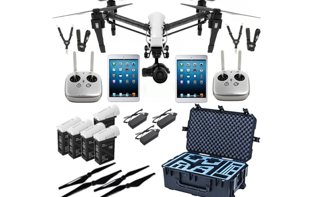 OUR CUTTING EDGE FLIGHT GEAR from DJI