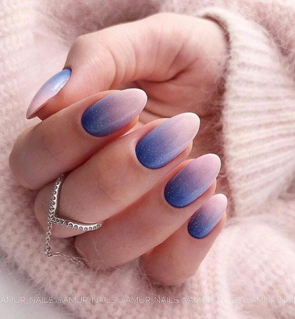 Nail trends for 2021 ombre