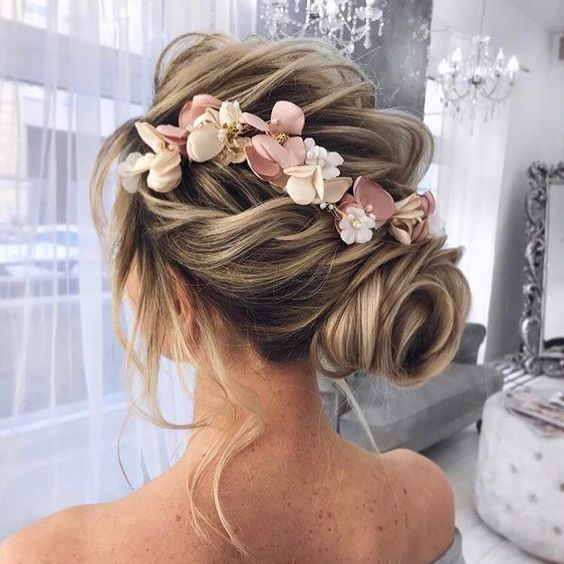 Wedding Hairstyle Trends 2019: Wedding Hairstyles 2019-2020, Long Short Medium Length Hair