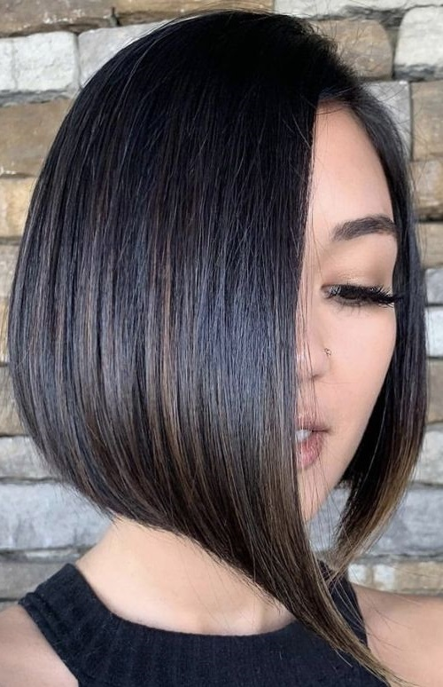 Bob haircut for medium length hair 2022