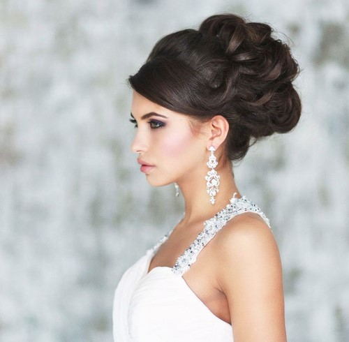 30 Stunning Wedding Hairstyles Ideas In 2019: Wedding Hairstyles 2019-2020, Long Short Medium Length Hair