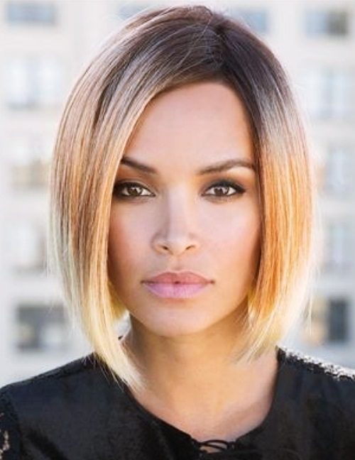 Women medium hairstyle