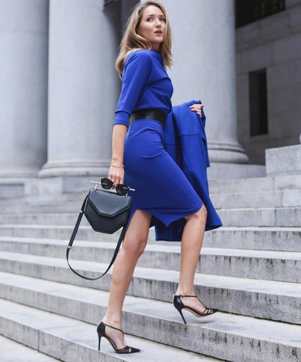 Office dresses with long sleeves