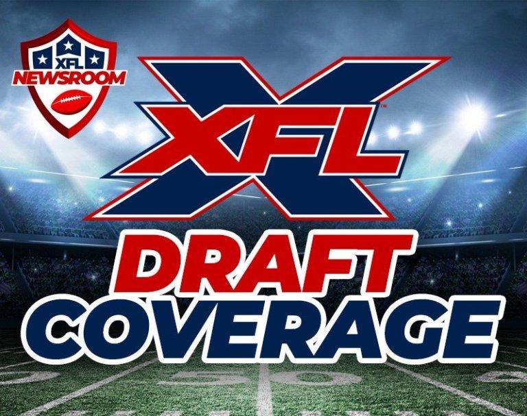 XFL Draft Live Coverage